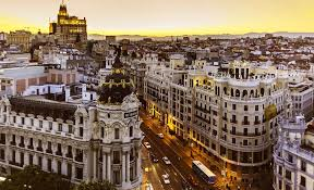Madrid, capitale spagnola