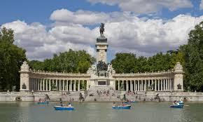 parco del Buen Retiro, lago artificiale